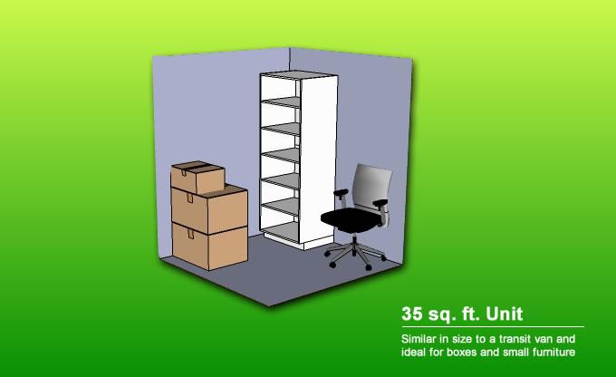 Free Storage Space Calculator Army Ants Storage In Preston